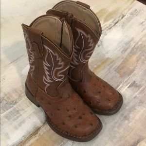 Roper baby boots